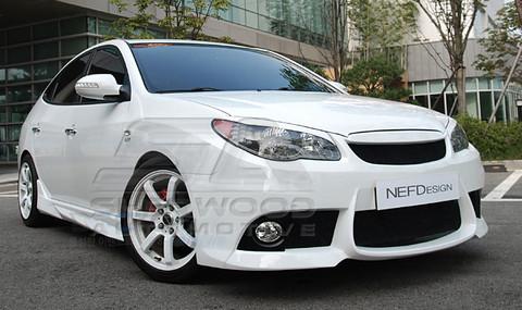 hd elantra nefd hx31s body kit korean auto imports. Black Bedroom Furniture Sets. Home Design Ideas