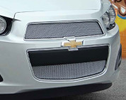 Chevy Sonic E&G Chrome Mesh Grill Set 2pc