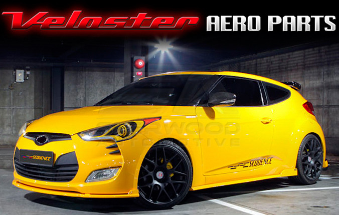 veloster sequence body kit korean auto imports. Black Bedroom Furniture Sets. Home Design Ideas
