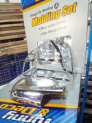 2001-2004 Santa Fe Chrome Taillight Covers 2pc
