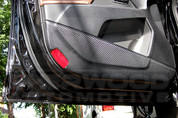 2011+ MD Elantra Premium Carbon Interior Door Cover Set