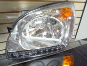 Sportage CCFL Neon Angel Eye / LED Headlights
