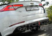 2011+ K5 Optima Luxgen Rear Bumper Diffusor