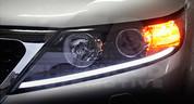 2011+ Sorento SX 2-way LED Illuminated Headlight Module Set 2pc