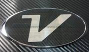 """Veracruz """"V"""" Chrome Badge (NON-LED)"""