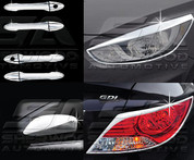 2011+ Accent / Verna Best Sellers Chrome Trim Package