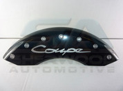 "Genesis ""COUPE"" Engraved BLACK MGP Caliper Covers 4pc"