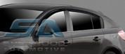 2011+ Chevy Cruze 5 door Hatchback Smoke Tinted Window Visors