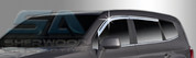 2011+ Chevy Orlando Chrome Window Visors