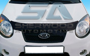 2008 - 2010 Picanto / Morning Smoke Tinted Hood Bug Guard Deflec