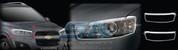 2011+ Chevy / Holden Captiva F/L Chrome Headlight Trim Set