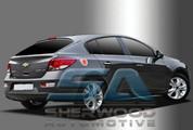Chevy Cruze 5 door Color Chrome Fuel Door Cover
