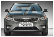 Ceed Chrome Front Bumper Grill Surround