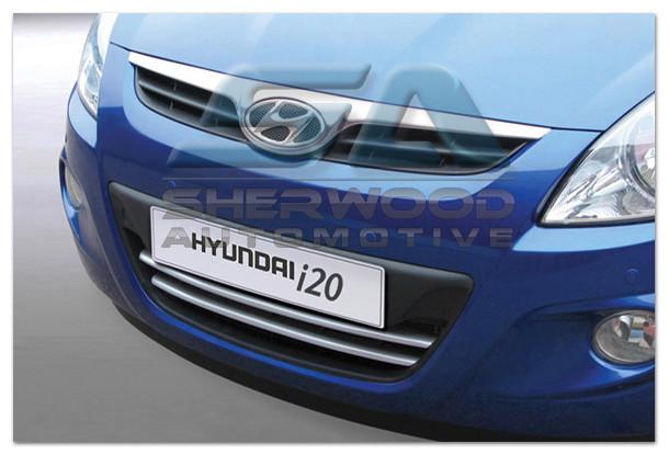 I20 Silver Front Bumper Grill Set 3pc Korean Auto Imports