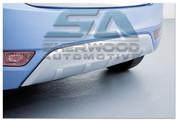 ix20 Silver Rear Bumper Skid Plate Garnish