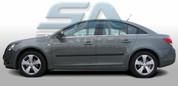 Chevy / Holden Cruze Black Molded Door Protector Set 4pc