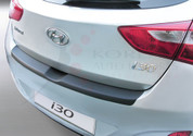 2012+ i30 5 Door MOLDED Rear Bumper Paint Guard Protector