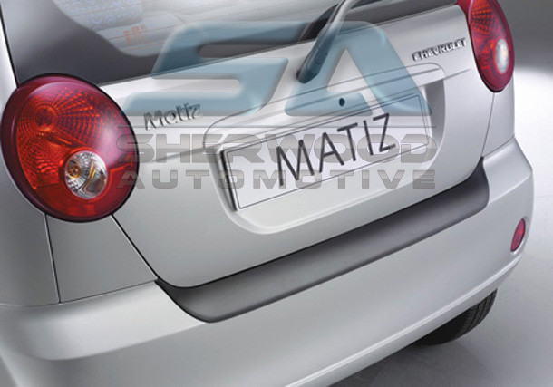 Chevy Matiz Molded Rear Bumper Paint Guard Protector
