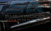 2011 + Elantra MD Chrome Stainless Steel Door Guard Molding Set