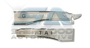 "Grand Starex ""WING"" Rear Chrome Garnish 2pc"