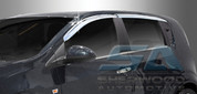 2012+ Chevy Sonic 5 Door Chrome Window Visors