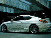 2013 + Genesis Coupe Cuper Side Skirts