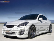 2013 + Genesis Coupe Ixion Side Skirts