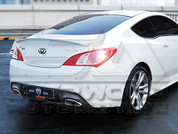 2013 + Genesis Coupe M&S Rear Diffusor