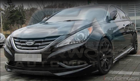 2011 sonata yf i45 luxgen body kit korean auto imports. Black Bedroom Furniture Sets. Home Design Ideas