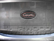 "2013 + Genesis ""Coupe"" Carbon Look Badge"
