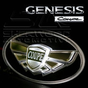 "2013 + Genesis ""Coupe"" LED Wing Badge"