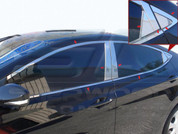 2011+ Elantra MD Stainless Steel/Chrome Window Package 20pc.