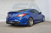 2013 + Genesis Coupe M&S Rear Bumper Side Flares 2pc Set