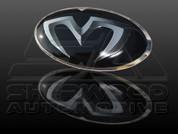 i20 5dr M&S BLACK/CARBON Grill Trunk Steering Emblem