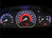 NF Sonata Rubicon Sport Gauge Plate Set