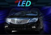 2012+ Azera HG 5G LED Fog Light Bezel DRL Module Set