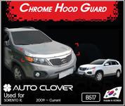 2010+ Sorento R XM CHROME Premium Hood Bug Guard 3pc