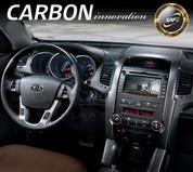 2010+ Sorento R XM Carbon Fiber Look Interior Vent Trim Covers