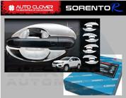 2010+ Sorento R XM Chrome Door Handle Shell Bowl Set 8pc