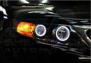2010+ Sorento R XM Illuminated LED Halo Headlight Ring Set 4pc