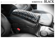 2010+ Sorento R XM Quilted Center Console Arm Rest Cover