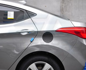 2010+ Sorento R XM Carbon Fuel Door Cover Decal