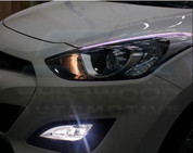 2012+ i30 Illuminated Headlight Eyeline Set 2pc