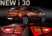 2012+ i30 LED Taillight Turn Signal Modules 4pc