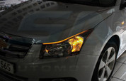 Chevy / Holden Cruze 5 Door Illuminated LED Headlight Eyelids 2p