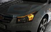 Chevy / Holden Cruze 5 Door Illuminated LED Headlight Eyelids 2p