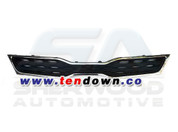 2012+ Rio 5 Door Black/Chrome Front Grill