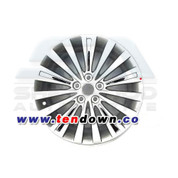 "Amanti / Opiris 18"" Silver/Chrome Wheel"