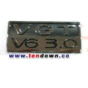 "Veracruz ""VGT V6 3.0"" Plaque Emblem"