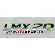 "2010+ Tucson IX ""LMX20"" Chrome Emblem"
